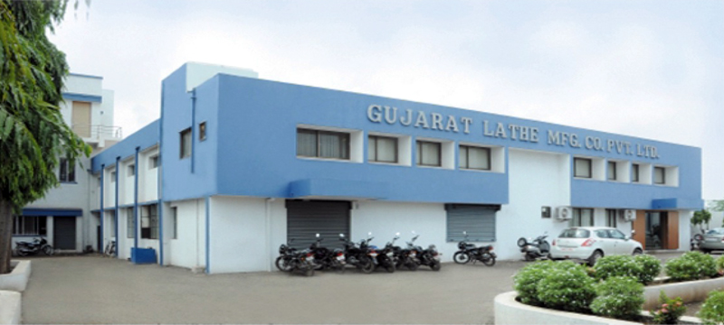 Our Lathe Manufacturing Rajkot Factory